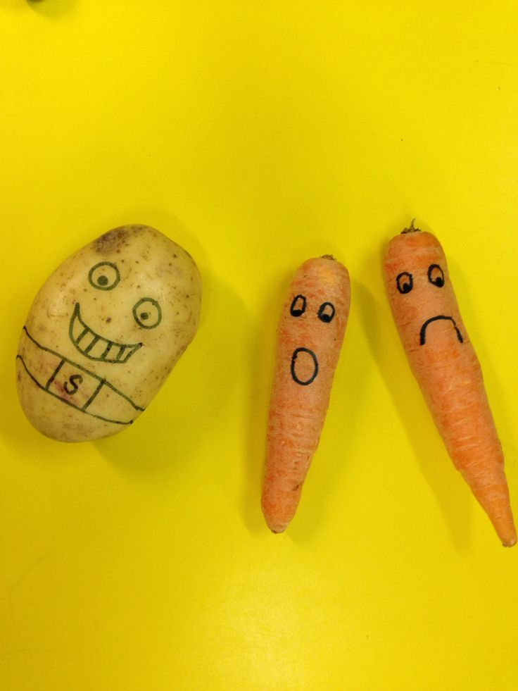 Very simple but effective supertato small world play.