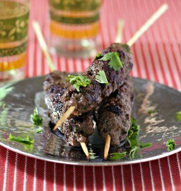 Brochettes de keftas - les meilleures recettes de cuisine d'Ôdélices