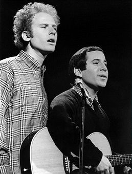 Simon & Garfunkel's Art Garfunkel, Paul Simon --