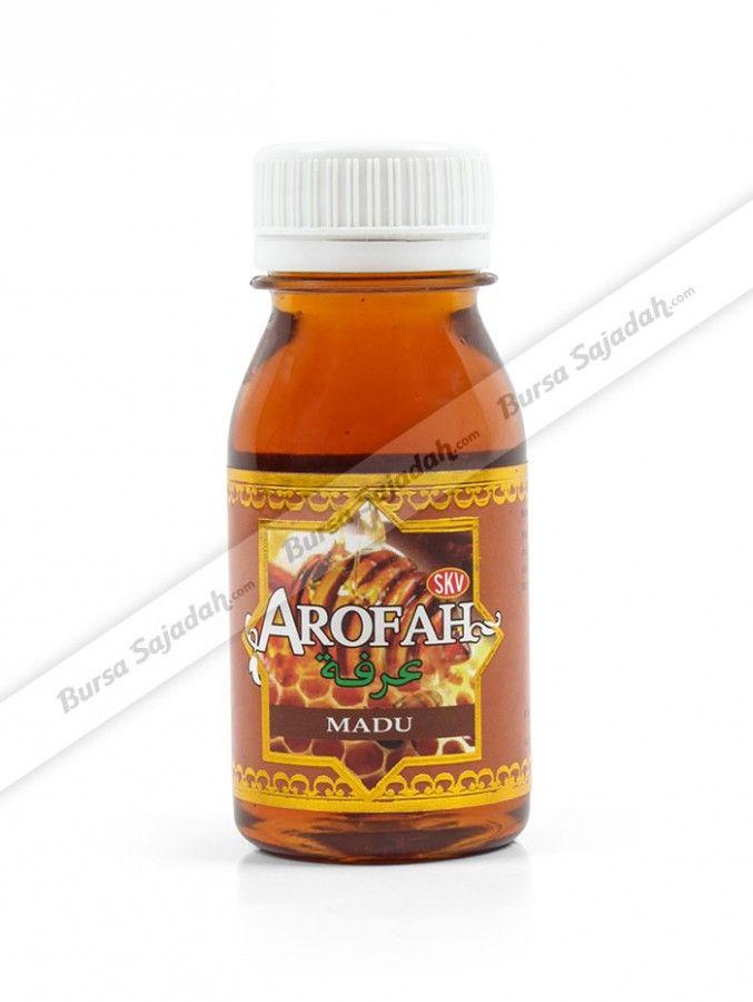 Madu Arofah merupakan madu murni yang diproses secara alami, higienis, & tanpa campuran bahan lain, sehingga terjaga kualitas, khasiat, dan manfaatnya. Selain itu, madu lezat yang kaya akan manfaat menyehatkan ini dibuat dengan ukuran kecil yang membuatnya praktis dibawa bepergian!