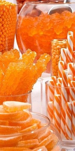 I think it is slightly possible that I am now in sugar heaven #Orange #Inspiration #Beautyinthebag