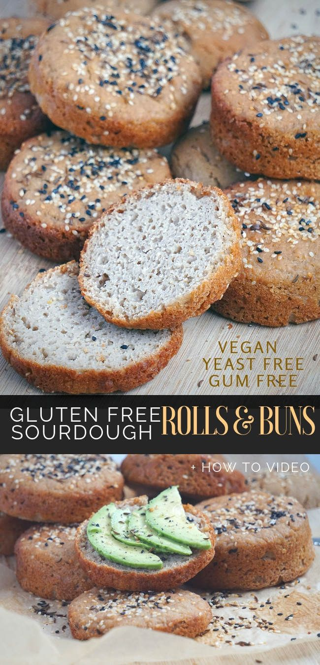 Learn How To Make Gluten Free Sourdough Bread Rolls And Buns That