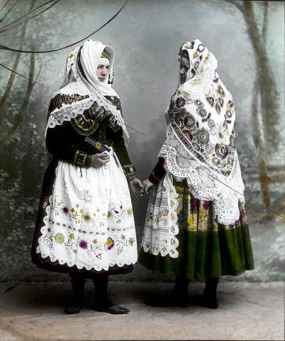 Ignác Šechtl: Blaťačky ve svátečních úborech