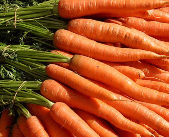 Carrots for eye health