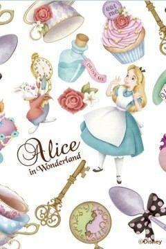 Fancy Wall Paper Alice In Wonderland Disney Phone BackgroundsWallpaper Iphone