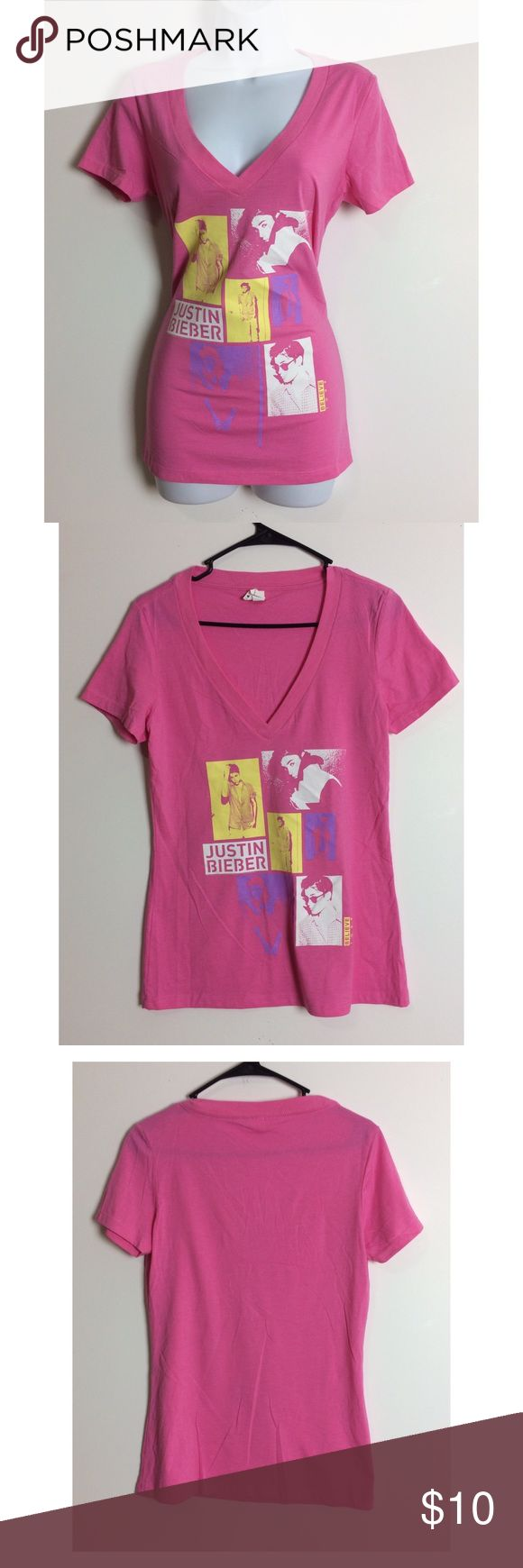 💕Justin Beiber Graphic Tshirt💕 Love this shirt super cute, stylish and trendy! NWOT! PRICE IS NOT FIRM OFFERS ACCEPTED UPON REQUEST...😊 Measurements: Armpit to Armpit: Length:  This listing is BRAND NEW WITHOUT TAGS! Material: next level Tops Tees - Short Sleeve