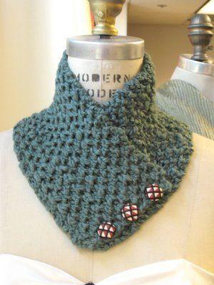 Receitas de Trico e Croche: Lindas golas para você se inspirar