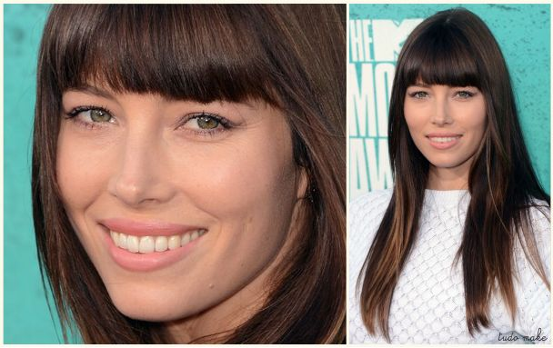 MTV Movie Award 2012- Tudo Make - Jessica Biel