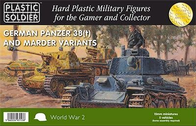 Storm of Steel: Plastic Soldier Company 15mm Panzer 38(t)/Marder I...