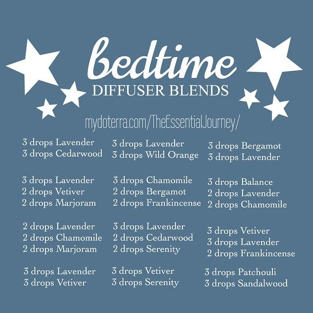 """Here are a few diffuser blends to try out for a peaceful night. In the past, each child had his or her own bedtime blend because one blend works for one…"""