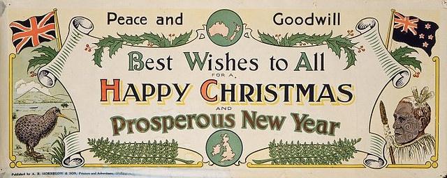 Christmas card c.1920