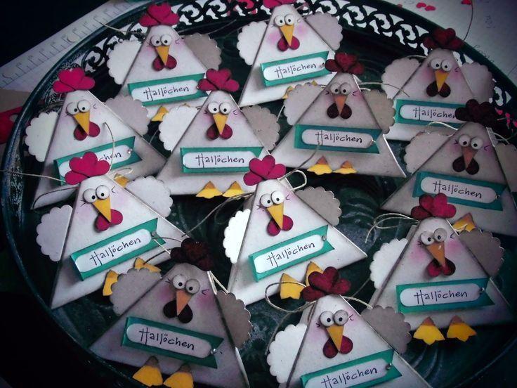 … de kippen zijn aan de gang ….. (creatief op de dijk) # Pasen knutselen .. …