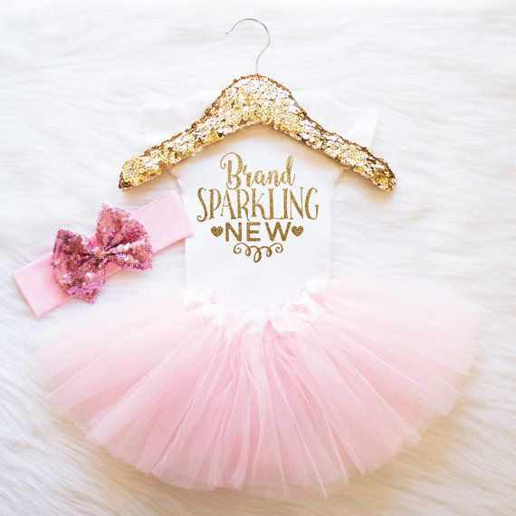 Coming Home Outfit Baby Girl Clothes Brand by ShopVivaLaGlitter