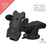 Tantra TWIST Smart Universal Phone Holder Mobile Stand for Car (Car Mount) with Quick One Touch Technology (Expandable & Rotatable) with Double Shift Locking for Windscreen Dashboard & Table Desk (Black).by Tantra702% Sales Rank in Electronics: 297 (was 2382 yesterday)(41)Buy: Rs. 750.00 (Visit the Movers & Shakers in Electronics list for authoritative information on this product's current rank.)