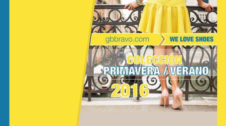 ¡NUEVA COLECCIÓN! Primavera/Verano 2016 ➡ http://bit.ly/NewsSS16 Los Zapatos que te mereces!   #zapatos #moda #tendencias #gbbravo #primavera2016