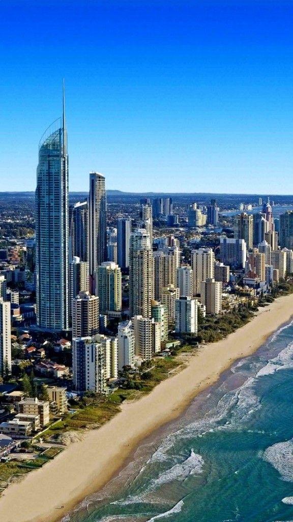 Gold Coast Beach, Queensland, Australia