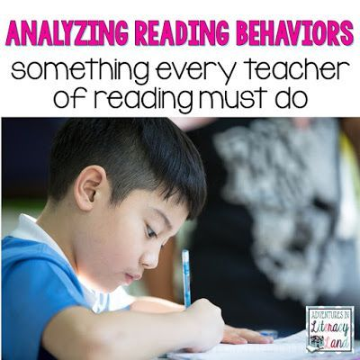 Analyzing Reading Behaviors: A MUST for Every Teacher of Reading