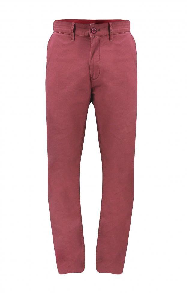 Ανδρικό παντελόνι τσίνος | Άνδρας - Παντελόνια | Metal Deluxe Μπορντό