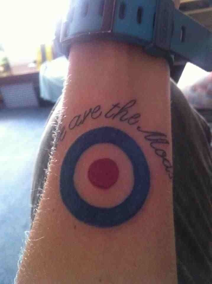 My we are the mods tattoo
