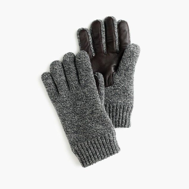 wool smartphone gloves.