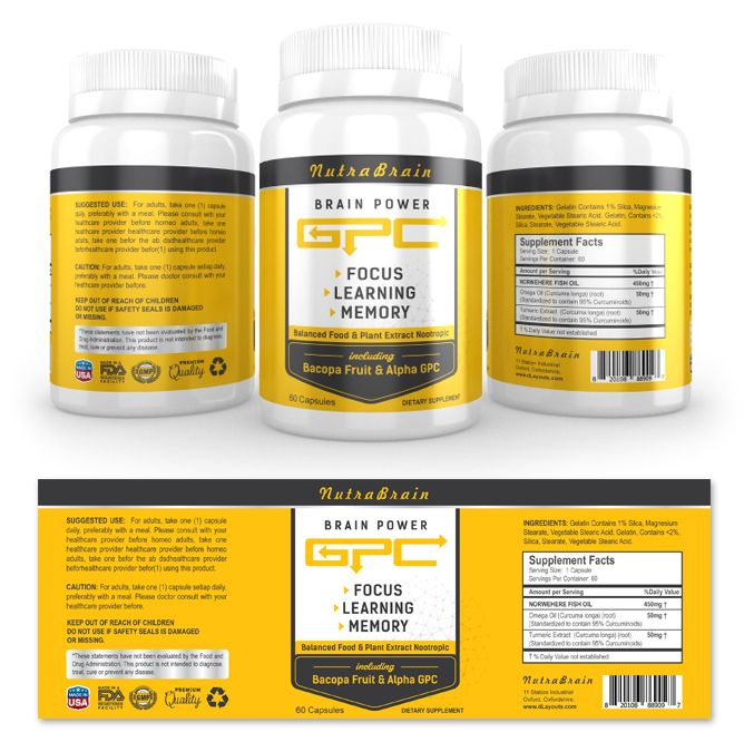 53 best images about Supplement Labels – Package Label Template