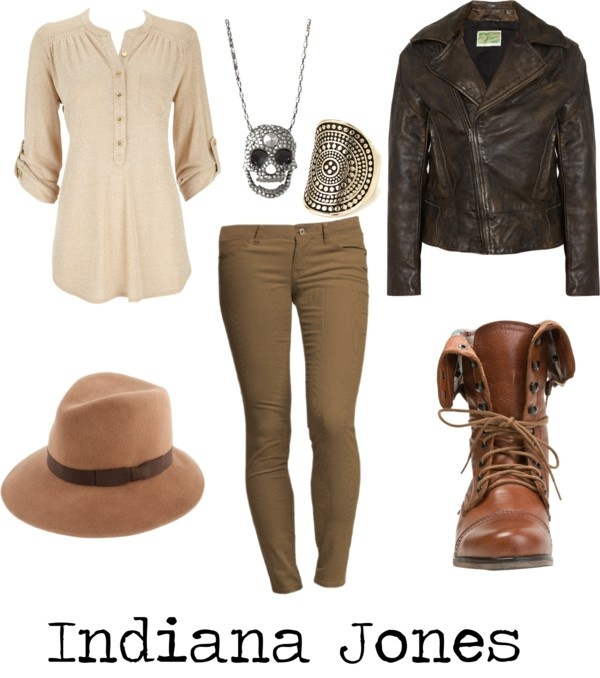 """Indiana Jones"" by michelle-geiser on Polyvore"