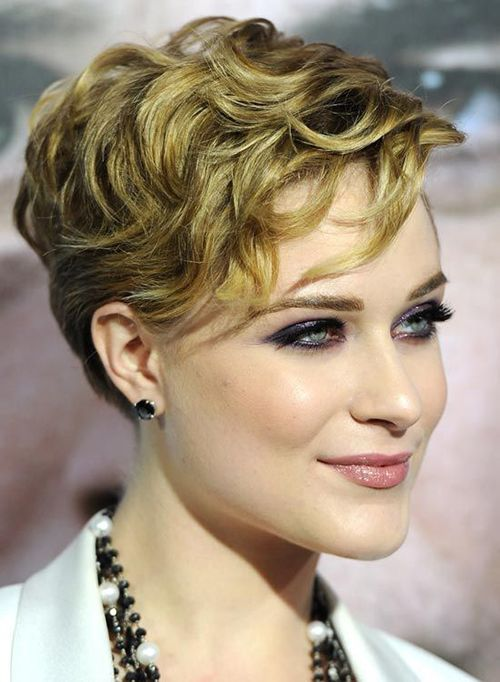 20.Short Haircut for Thick and Wavy Hair