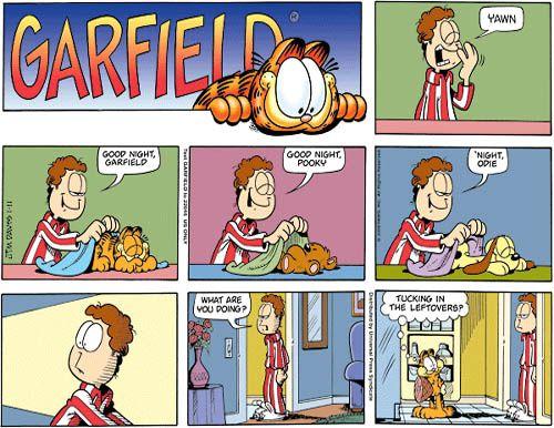 Garfield comics | Garfield and Friends comic strip reference ...