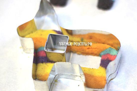 Печенье с сюрпризом - пиньята Единорог (рецепт с фото)