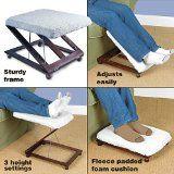 Adjustable Footstool Elevator Foot Stool
