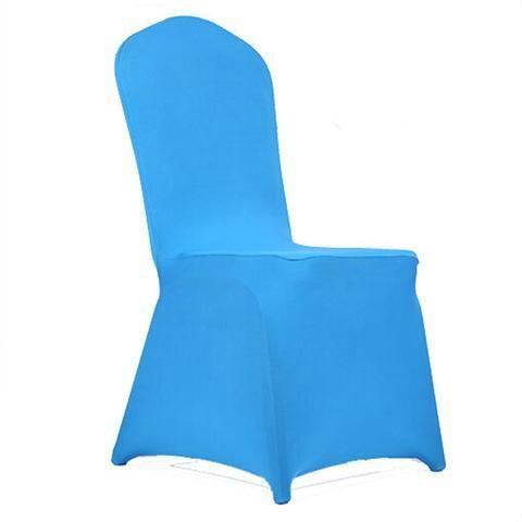 1pcs Universal Spandex Stretch Chair Covers Hotel Wedding Party Banquet Decoration - Mega Save Wholesale & Retail
