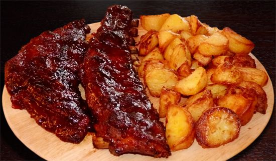Hot Chilli Smaki: Żeberka BBQ - pieczone