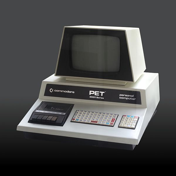 First Personal Computer, the Commodore 2001 Series in the 1970's