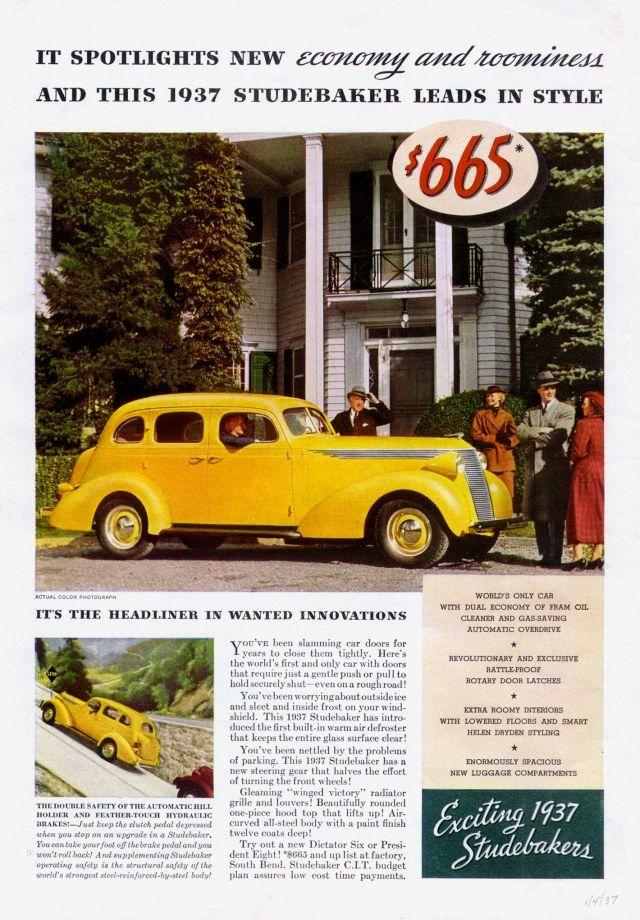 716 best Auto\'s Studebaker images on Pinterest | Vintage cars ...