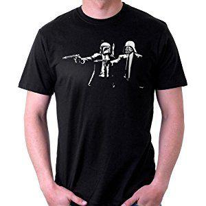 Banksy Star Wars Pulp Fiction, Men's T-Shirt