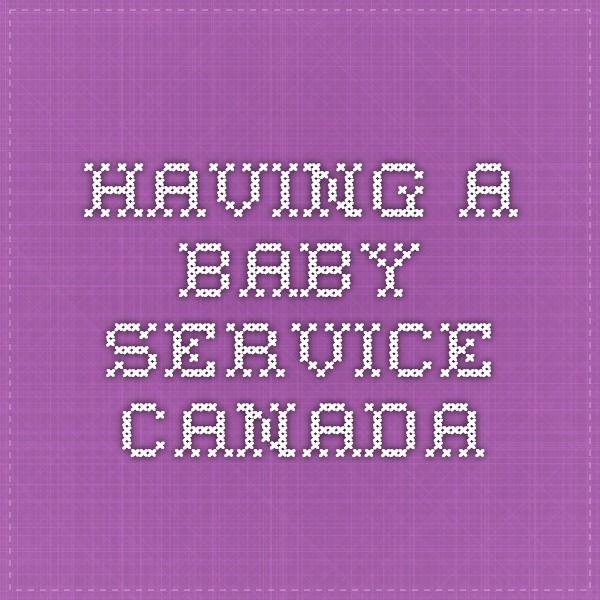 Having a Baby - Service Canada