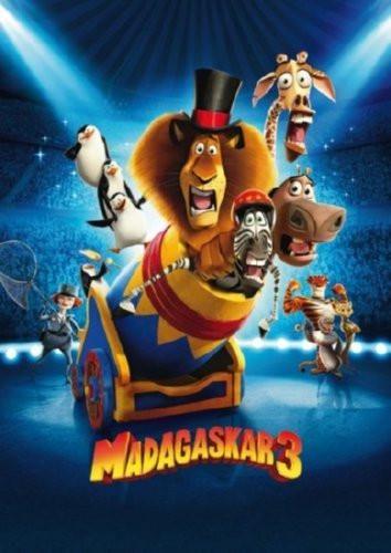 Madagascar 3 Movie Poster 24inx36in