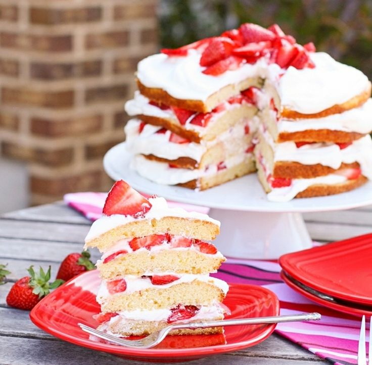Recipes Strawberry Sunshine Cake, This is a recipe my current mainstay in the summer.