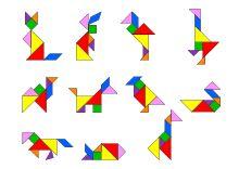 12 besten tangram bilder auf pinterest