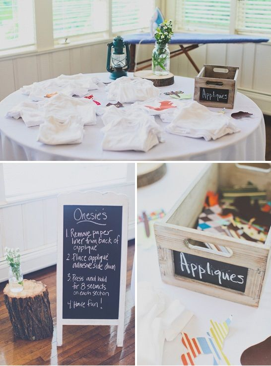 Camping Themed Baby Shower by Erica from It's An Occasion Events via www.babyshowerideas4u.com #babyshowerideas4u