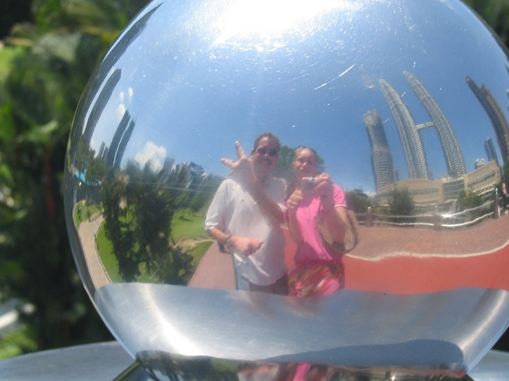 Fer and daughter discovered the magic ball as well. Thanks Fer.