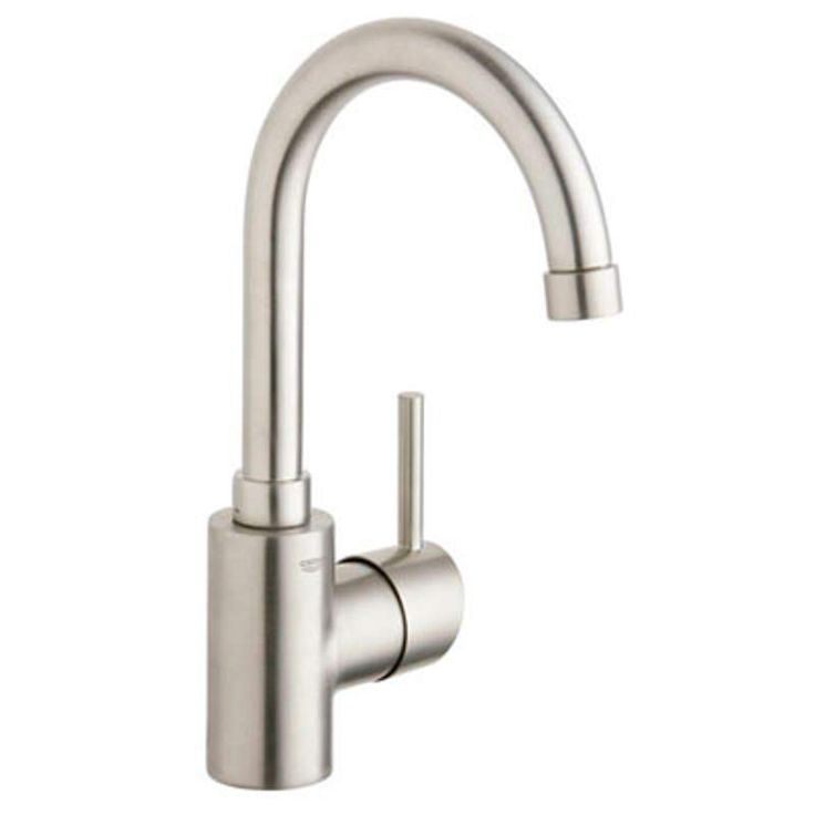 The Awesome Web Grohe Concetto New Bathroom Faucet with Swivel Spout and SilkMove Ceramic Disc Cartridge Includes Drain Assembly