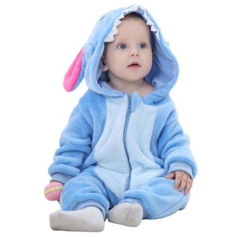 Blue Jumpsuit Baby Rompers **FREE+SHIPPING**