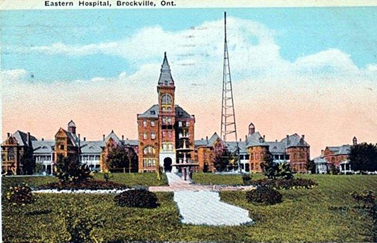 Brockville Ontario Eastern Hospital c1920