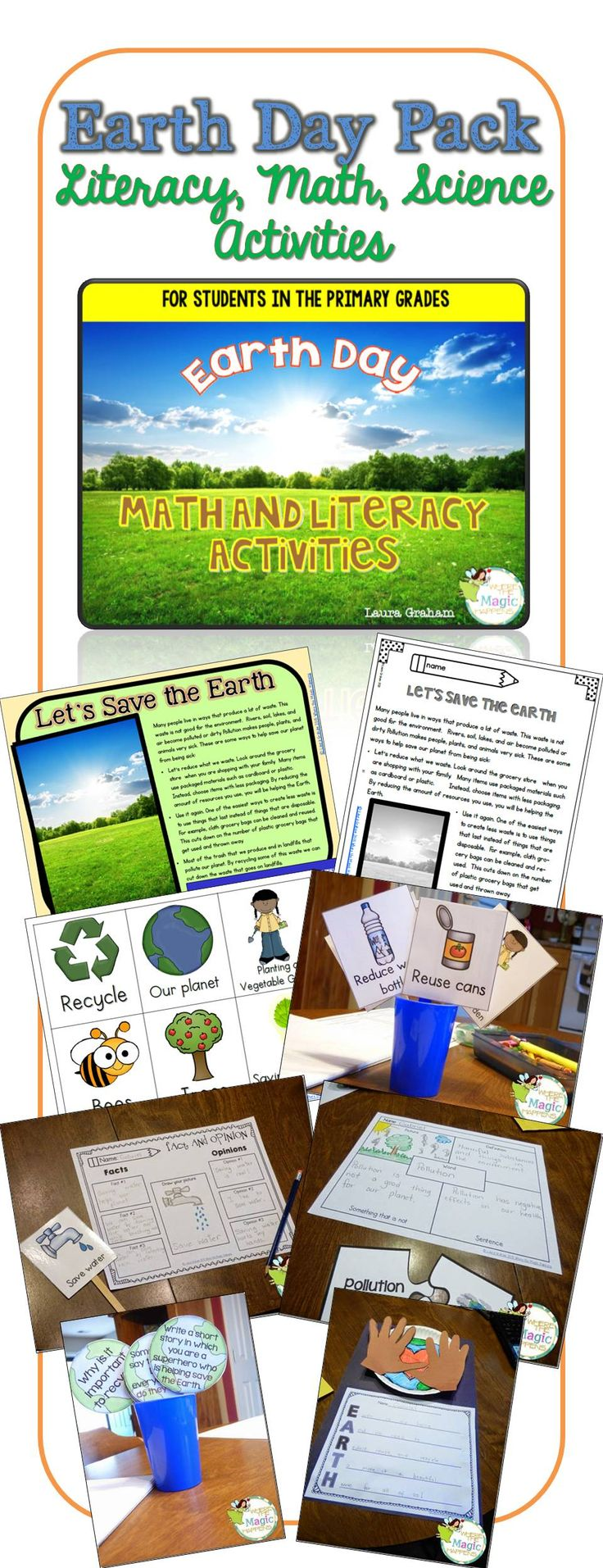 Reduce reuse recycle activities - Earth Day Activities