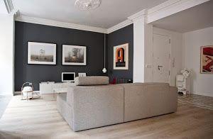 Las paredes oscuras son geniales para aportar elegancia, pero mucho cuidado con la luz y el espacio.