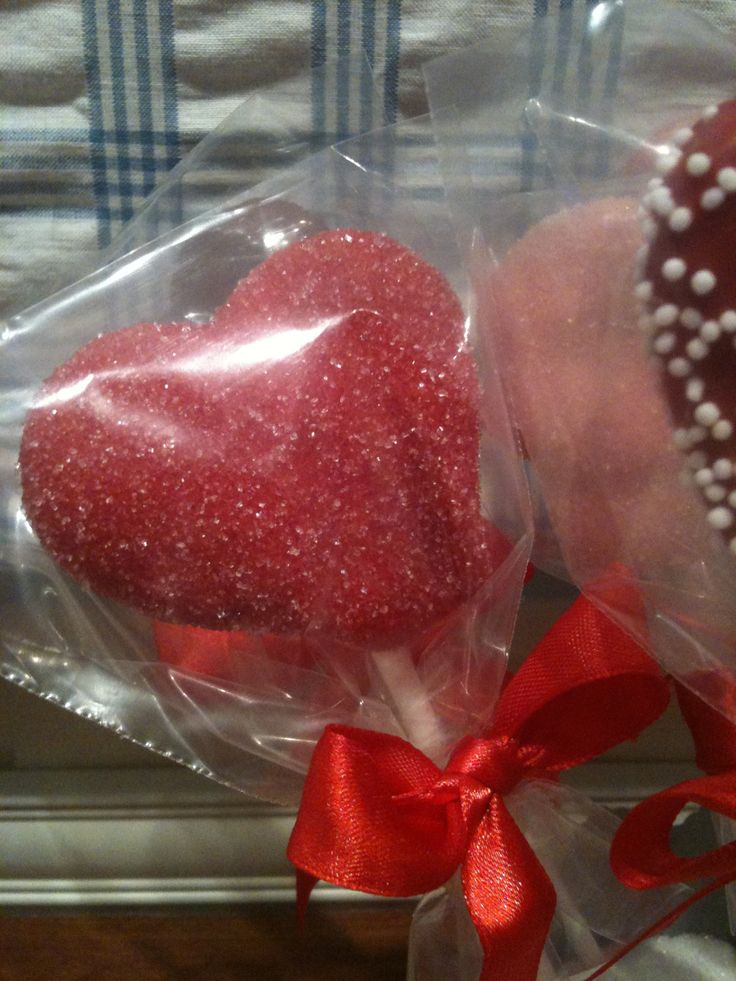 Valentines day cakepops