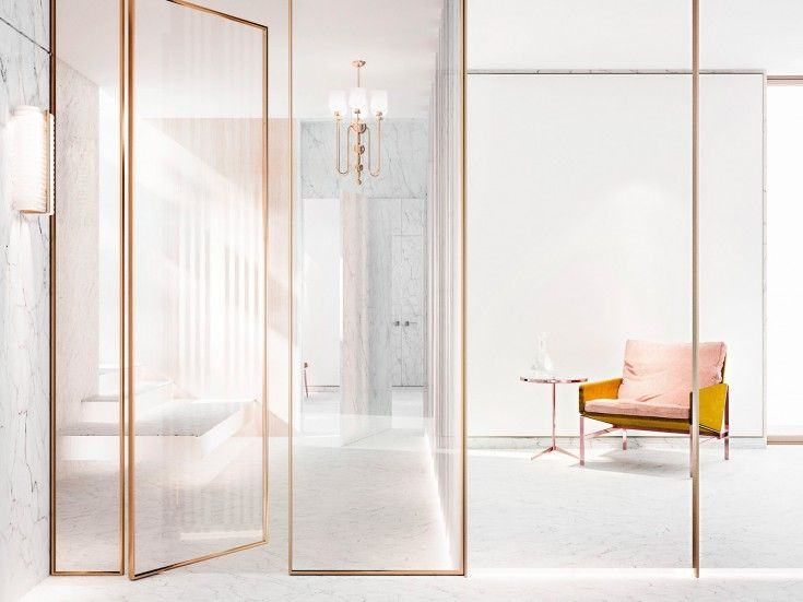25 best ideas about glass partition on pinterest glass for Room divider for bathroom