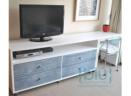 Mueble TV + Escritorio