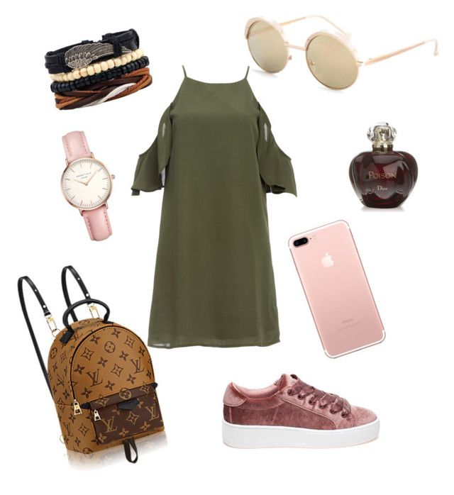 Passion for Fashion by lenshop-gr on Polyvore featuring DailyLook, Steve Madden, Topshop, Christian Dior and sunglasses Le Specs http://lenshop.gr/manufacturers/13585-le-specs/sunglasses